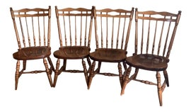 Image of Nichols and Stone Dining Chairs