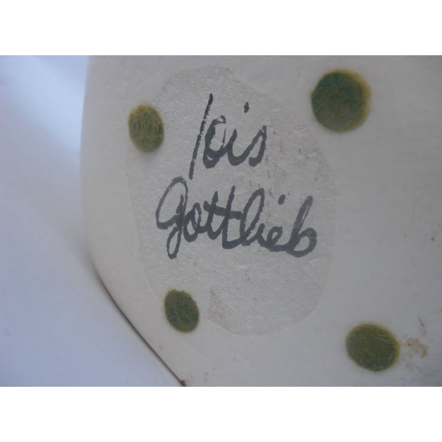 Ceramic Handkerchief Bowl with Flower - Image 5 of 5