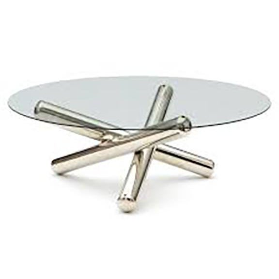 Milo Baughman Jax Tripod Coffee Table For Sale In Palm Springs - Image 6 of 7