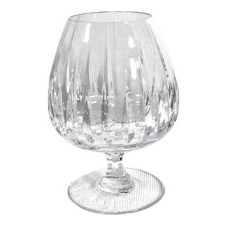 Mikasa Arctic Lights Brandy Glass Heavy Blown Glass - 1 For Sale