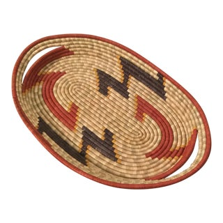 Handmade Woven Basket For Sale