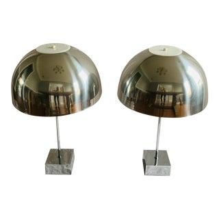 Paul Mayen for Habitat Vintage Dome Lamps - a Pair For Sale