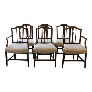 1775 Antique George III Dining Chairs - Set of 6 For Sale