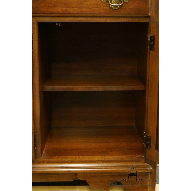 "Thomasville Furniture Winston Court Collection 56"" China Cabinet For Sale - Image 10 of 13"