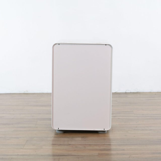 Metal Poppin White File Cabinet For Sale - Image 7 of 9