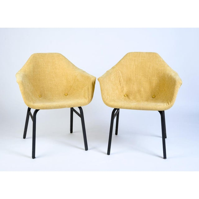 Mid-Century Modern Eames Chairs - a Matched Pair For Sale In Seattle - Image 6 of 7