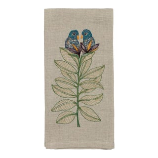 Birds of Paradise Tea Towel