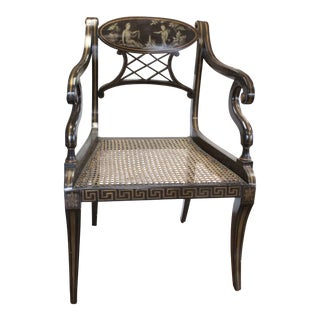 Late 20th Century Classical Arm Chair For Sale