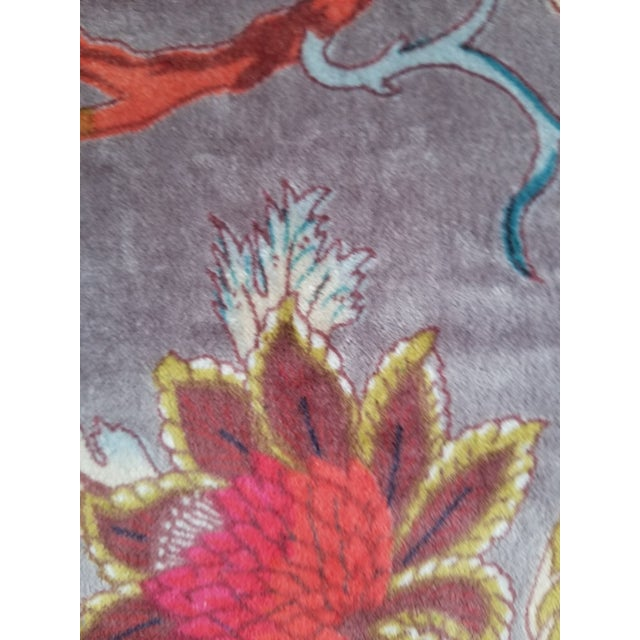 3 Yards Cotton Velvet for Pillows Drapes Uphostery For Sale - Image 4 of 5