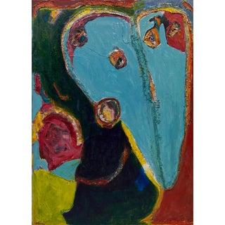 Wyona Diskin Blue Heart For Sale
