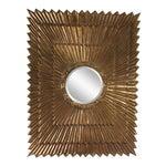 1970s Italian Large Giltwood Sunburst Mirror