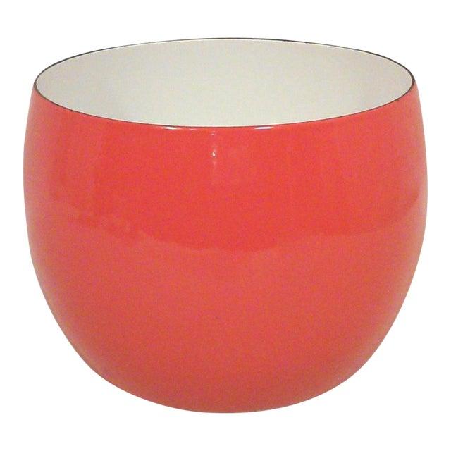 Dansk IHQ Red Enamel Bowl - Image 1 of 7