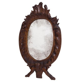 19th Century Welsh Witches Mirror For Sale