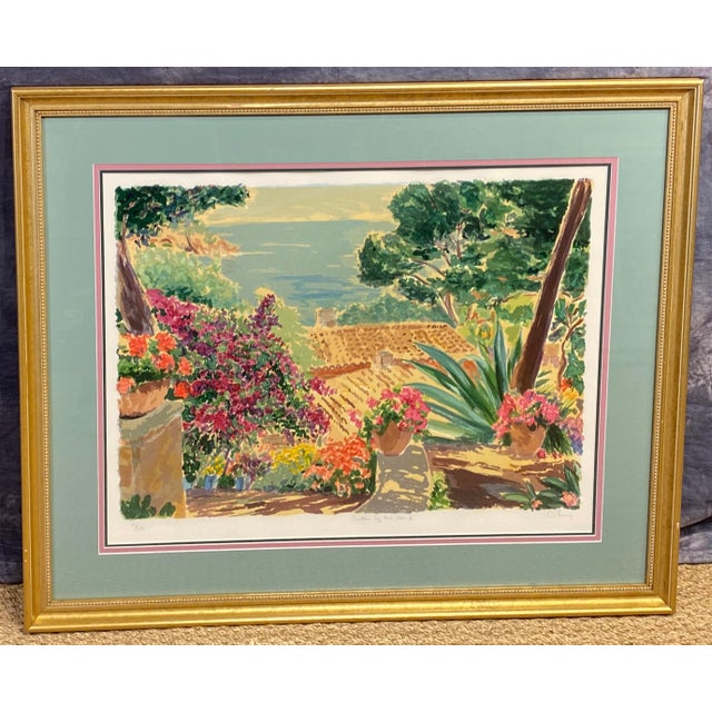 """""""Garden by the Sea II"""" Framed Print by Carlton Penny For Sale - Image 11 of 11"""