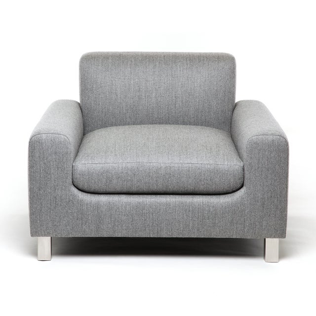 Mid-Century Modern Baxter Chair For Sale - Image 3 of 5