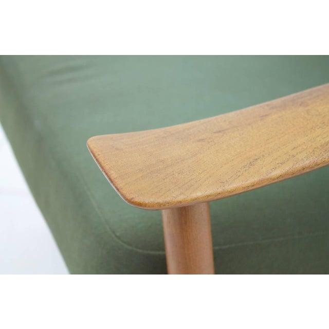 France & Son Peter Hvidt & Orla Molgaard Nielsen Teak Lounge Chair, Denmark 1961 For Sale - Image 4 of 6
