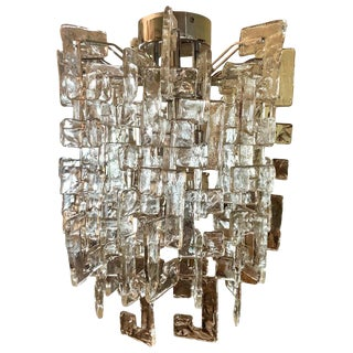Carlo Nason Mazzega Murano Glass Chandelier For Sale