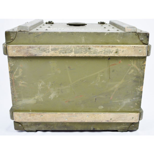 United States Army AAA Gun Site Equipment Crate For Sale - Image 12 of 13