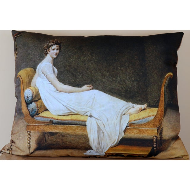 Paris Photo Pillow Juliette Recamier For Sale - Image 12 of 12