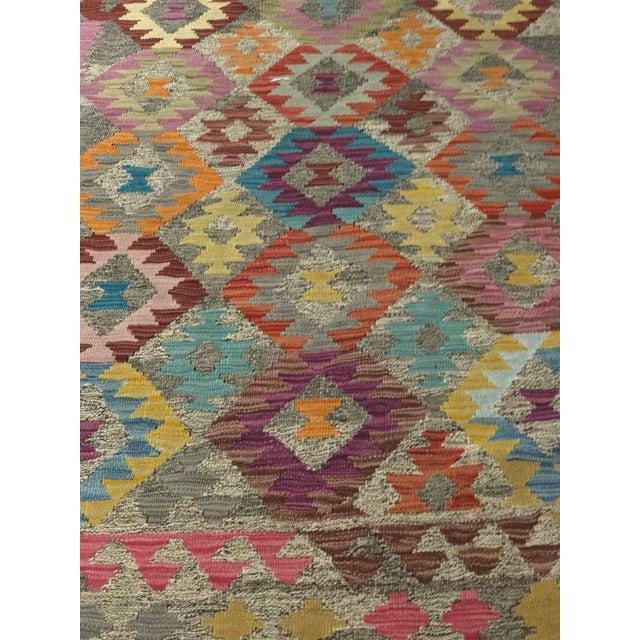 """Bellwether Rugs Wool Kilim Rug - 6'8"""" x 10' - Image 9 of 11"""