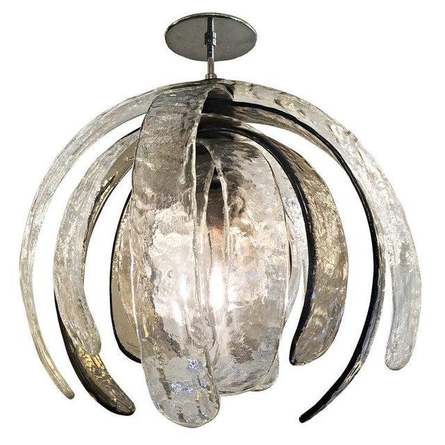 Artichoke Murano Glass Chandelier by Mazzega - Image 6 of 6