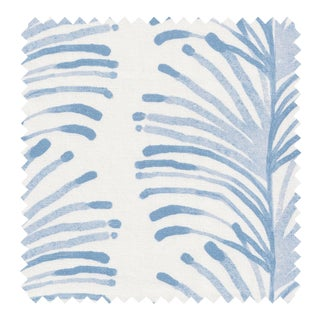 Sample - Pepper Emma Sky Fabric For Sale