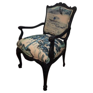 French Louis XV Style Chair For Sale