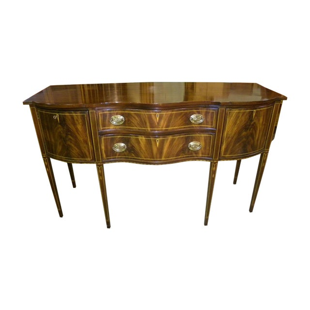 Henkel Harris Mahogany Server Buffet For Sale