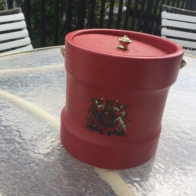 Boho Chic Vintage Kraftware Ice Bucket For Sale - Image 3 of 8