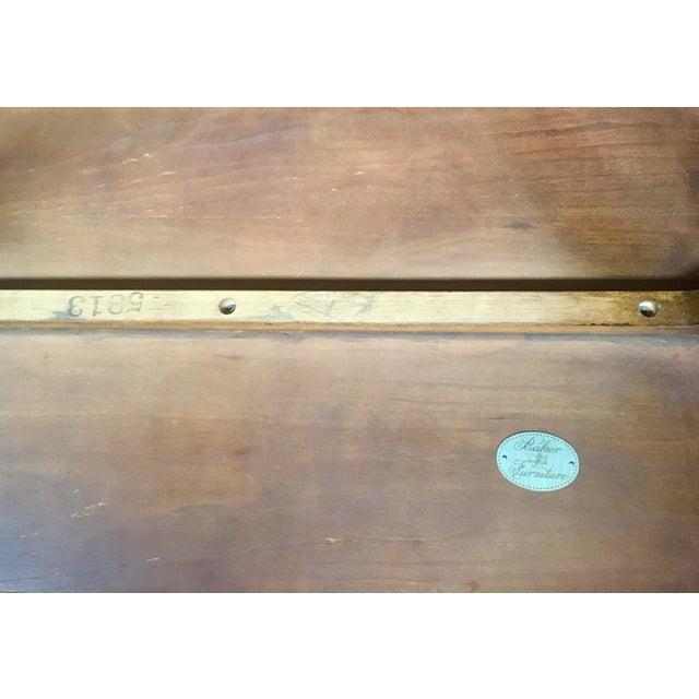 Baker Furniture Nesting Tables - Set of 2 For Sale - Image 12 of 13