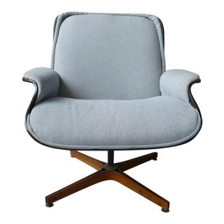 1960's Mid-Century Modern Plycraft George Mulhauser Desk Chair For Sale