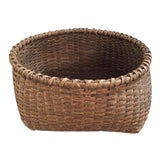 Image of Antique Early Storage Basket For Sale