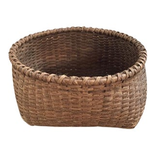 Antique Early Storage Basket For Sale