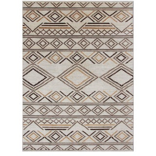"Navajo Hand Knotted Rug-9'10"" X 13'6"" For Sale"