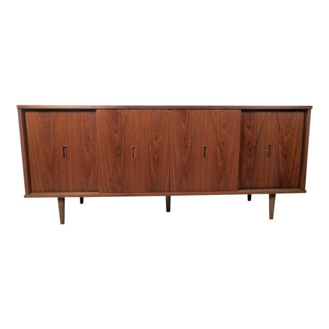 Mid-Century Modern American Credenza - Image 1 of 9
