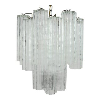 Murano Tronchi Chandelier For Sale