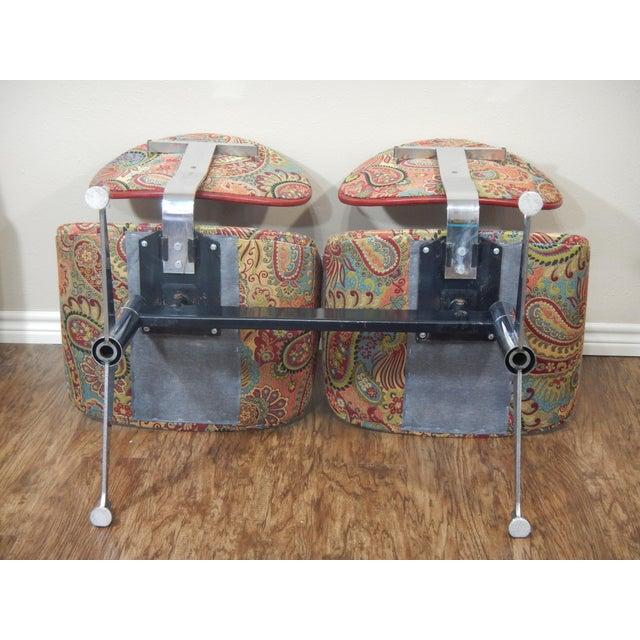 Faultless-Doerner Steel Base Tandem Seating For Sale - Image 9 of 11