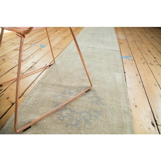 "Vintage Oushak Runner Rug - 2'2"" x 10'3"" - Image 2 of 7"