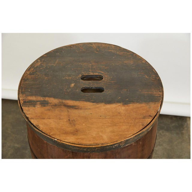 19th C. American Barrel For Sale - Image 4 of 5