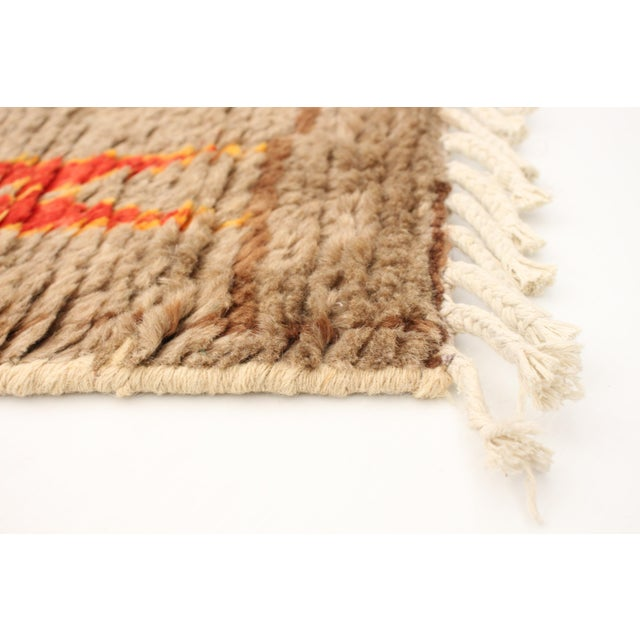 """Moroccan-Style Hand-Knotted Rug-8'10"""" X 12'3"""" For Sale - Image 4 of 9"""