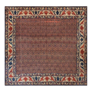 """Antique Persian Senneh Rug 11'0"""" X 11'3"""" For Sale"""