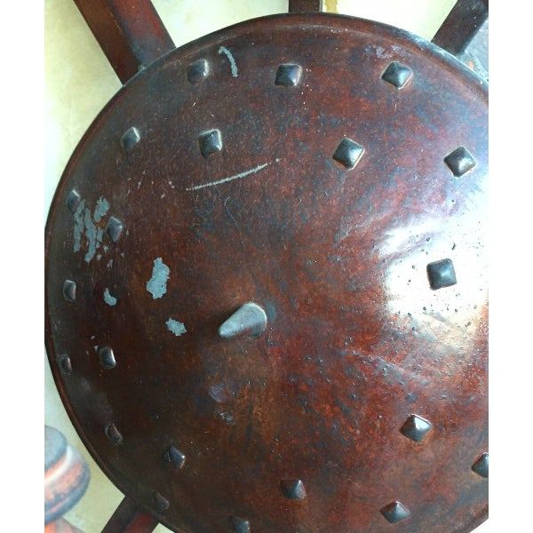 7-Arm Vintage Wall Sconce - Image 7 of 7