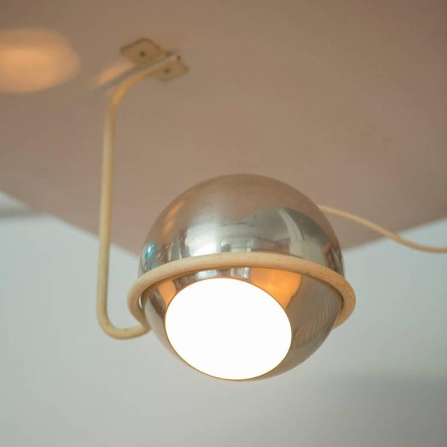 Set of Two Ceiling Lamps by Gino Sarfatti for Arteluce For Sale - Image 5 of 9