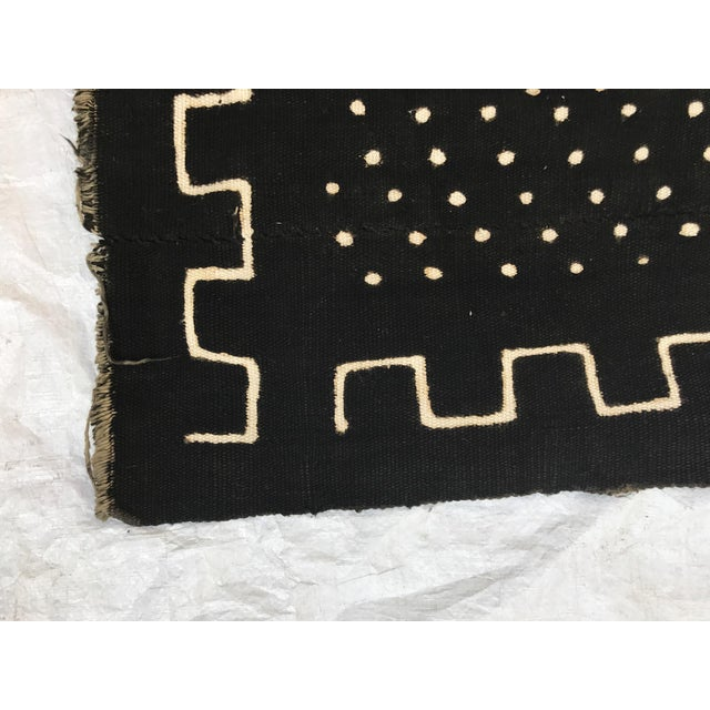 African Handmade Mud Cloth Tribal Design Textile For Sale In Los Angeles - Image 6 of 9