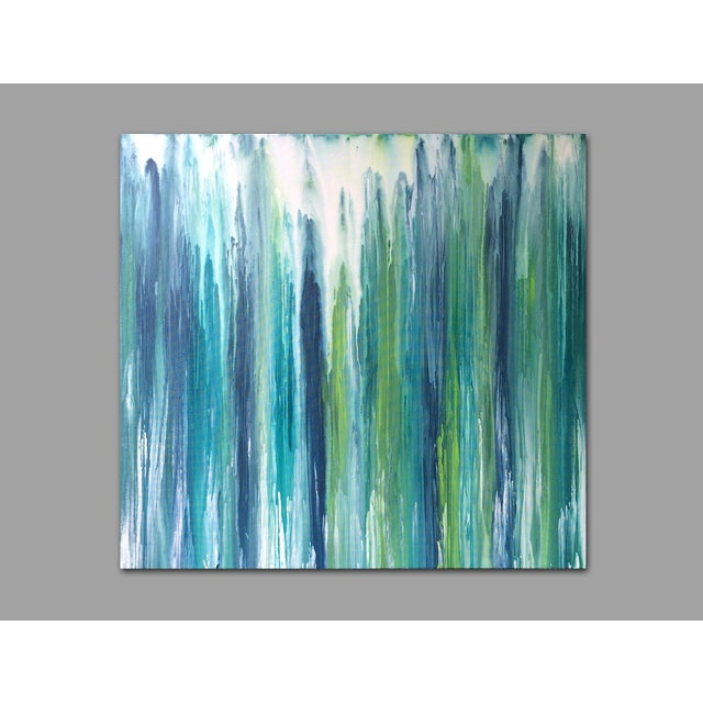 'Waterfall' Original Abstract Painting by Linnea Heide - Image 4 of 8