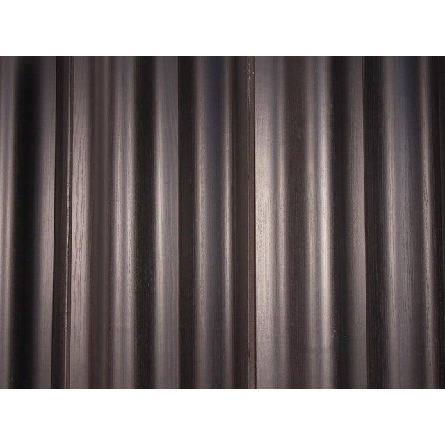Black Eames Ebonized Folding Wood Screen Fws-6 For Sale - Image 8 of 10