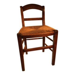 French Provence Mahogany Child's Chair