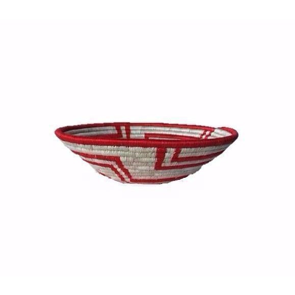 African Woven Basket - Image 4 of 6