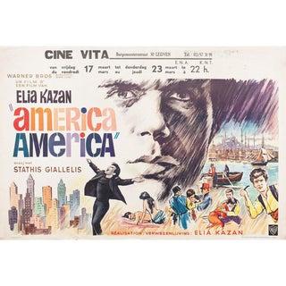America, America 1964 Belgian Film Poster For Sale