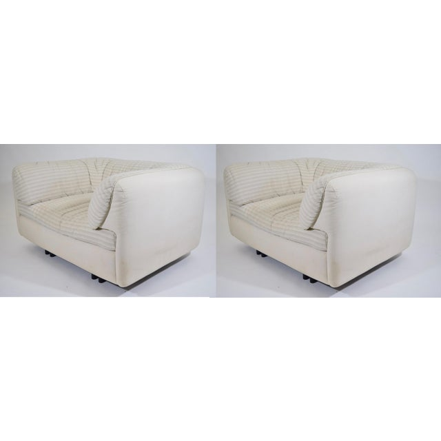 These chairs are very well made and very comfortable. They would benefit from new upholstery which we can help with.